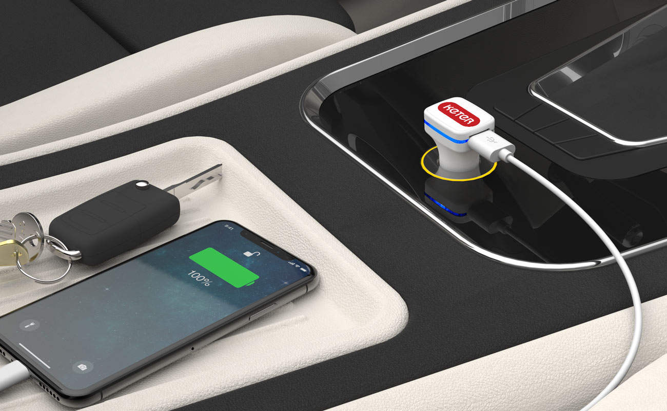 Vista - Custom Car Charger