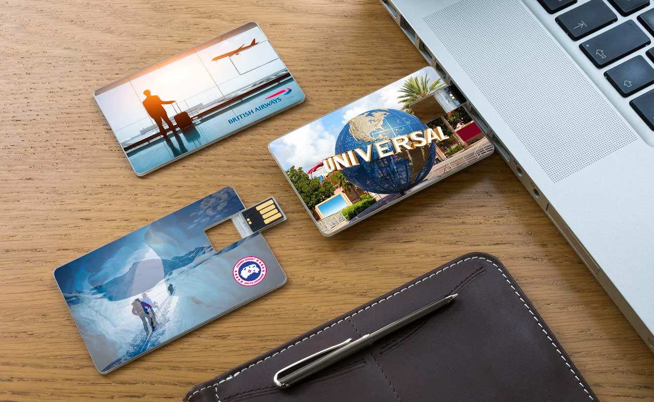 Wafer - Clé USB Carte De Crédit