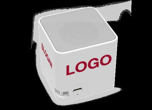 Cube - Enceinte Logo