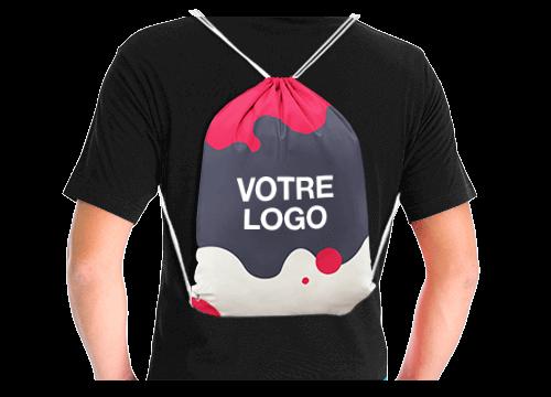 City - Tote Bags à cordon personnalisés