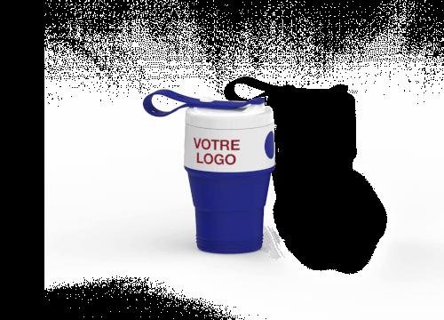 Cafe - Mug de voyage marqué