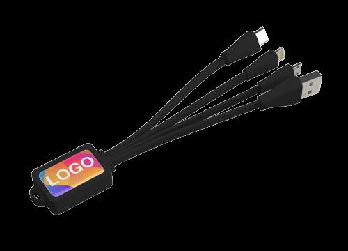 Multi - Câble personnalisé USB Octopus