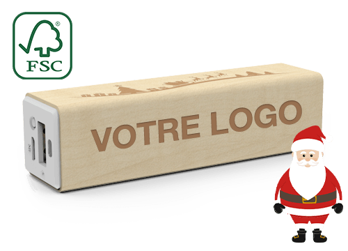 Maple Christmas - Batterie Externe Personnalisable
