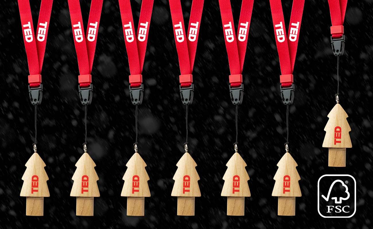 Christmas - Clé USB sapin personnalisée