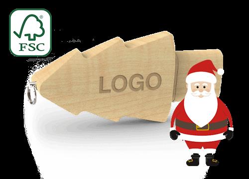 Christmas - Clés USB Personnalisée