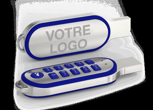Code - Clé USB personnalisée avec touches