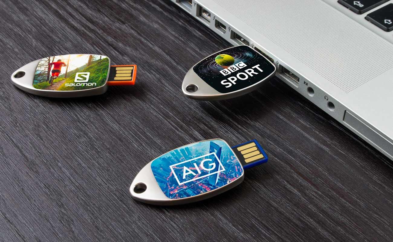 Fin - Clé USB Personnalisée