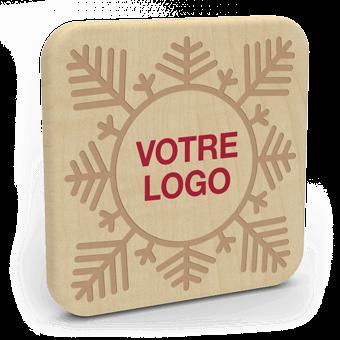 Forest Christmas - Chargeur Sans Fil Personnalisé
