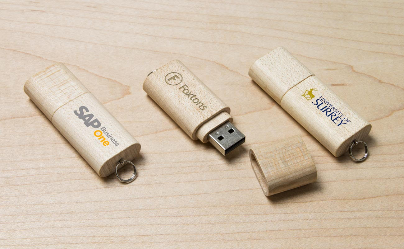 Nature - Clé USB Bois Personnalisée