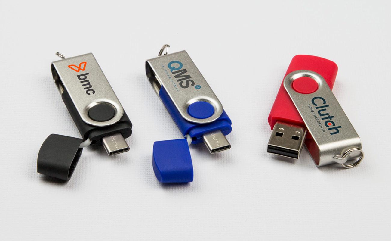 Twister Go - Clé USB Personnalisée