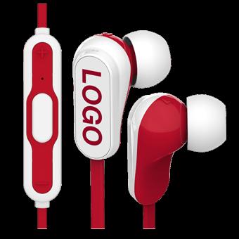 Vibe Bluetooth® - Écouteurs Bluetooth avec Logo